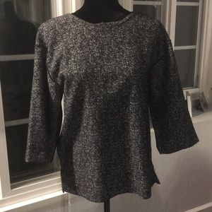 Black and White Banana Republic Top Size S